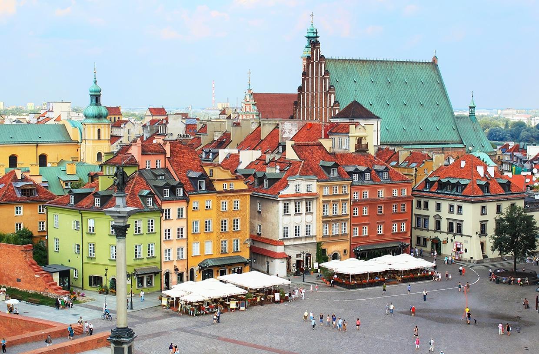 Warszawa - lokalnie
